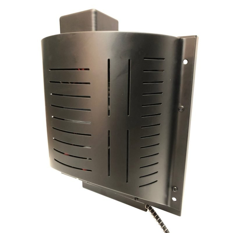 Dog House Heater deluxe side