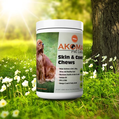 Skin and Coat Dog Chews