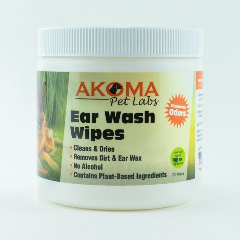 Akoma Pet Dog Ear Wash Wipes