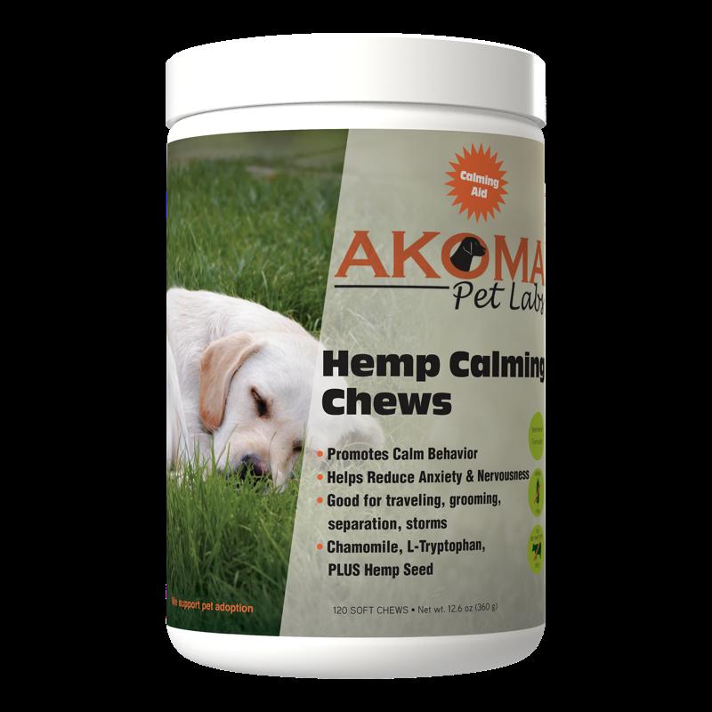 Hemp Calming Chews for Dogs