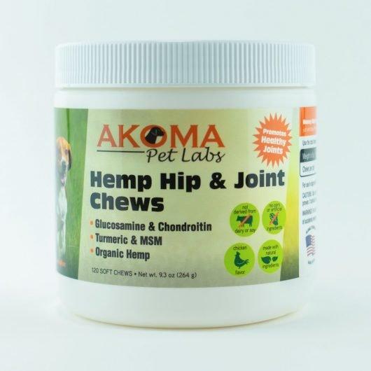 Akoma Hemp Hip and Joint Dog Chews