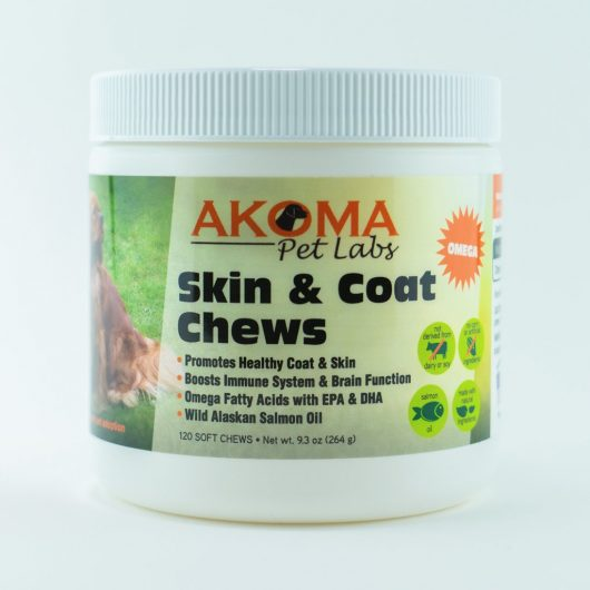 Akoma Skin and Coat Dog Chews